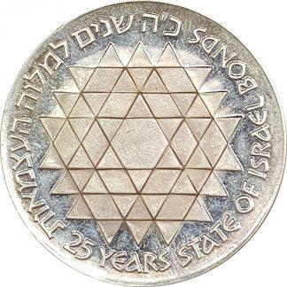 25 לירות 1975 הבונדס