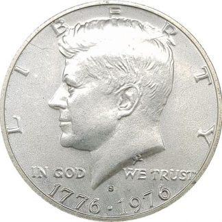 50 סנט 1976 מכסף