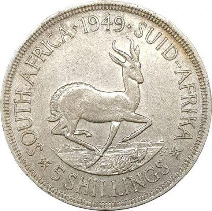 5 שילינג 1949 דרום אפריקה