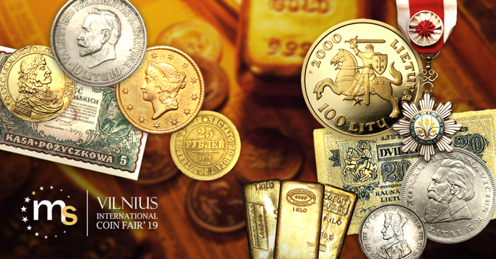 Vilnius International Coin Fair 2019 16-17th November 2019