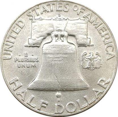 50 סנט 1963 פרנקלין ארצות הברית