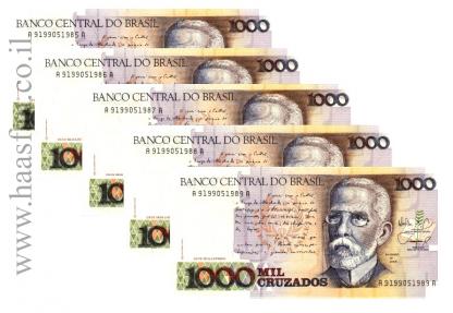 1000 mil crusados brazil