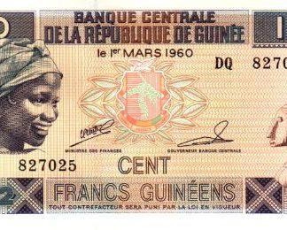 100 פרנק 2012, גינאה