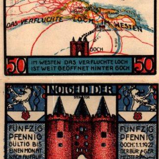 וטגלד מגוך – 50 פנינג משנת 1922