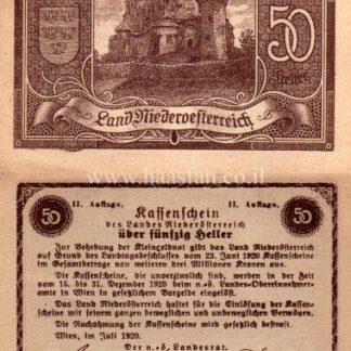 נוטגלד מראפנפיין - 50 חאלר משנת 1920