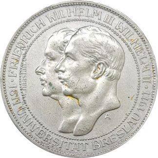 3 מארק 1911 כסף 0.900 פרוסיה