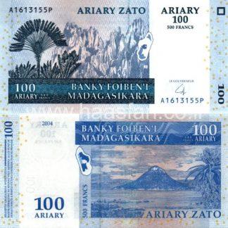 100 אריארי 2004, מדגסקר - UNC