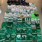 אוסף חולצות מכבי חיפה