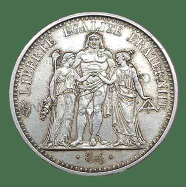 10 פראנק 1965, צרפת - כסף 0.900