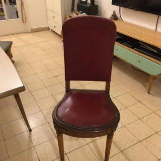 6 כסאות וינטג'