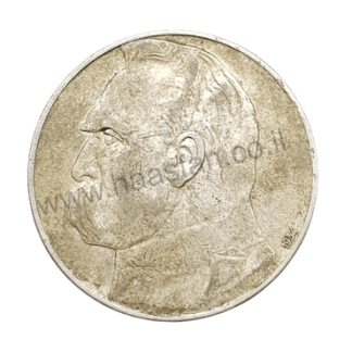 10 זלוטי 1934, פולין - כסף 0.750, יוזף פילסודסקי (כמות הטבעה 300,000 יחידות בלבד)