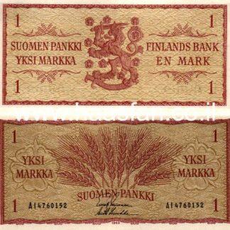 1 מרקה 1963, פינלנד - UNC
