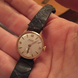 שעון דוקה 14 קארט לנשים