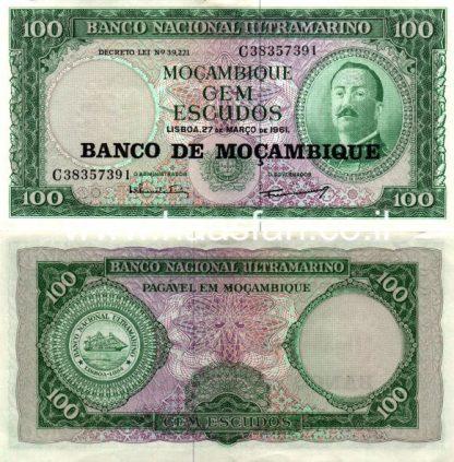 100 אסקודו 1961, מוזמביק - AU