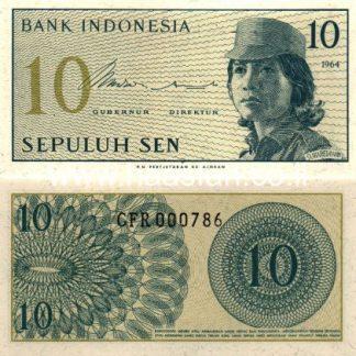 10 סן 1964, אינדונזיה - UNC
