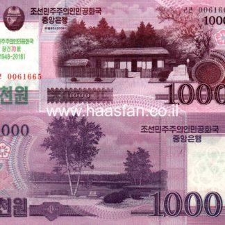 1000 וואן 2008, צפון קוריאה - UNC