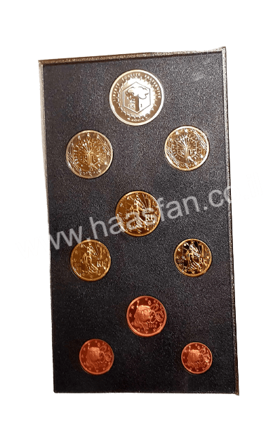 Official Euro Proof coin set from France