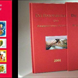 ספרים + דפים מיוחדים עם בולי דואר מקוריים גרמניים