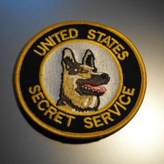 סמל צוות כלבי השירות החשאי של ארצות הברית - SECRET SERVICE