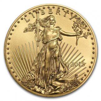 מטבע זהב gold eagle אמריקאי שנת 2018