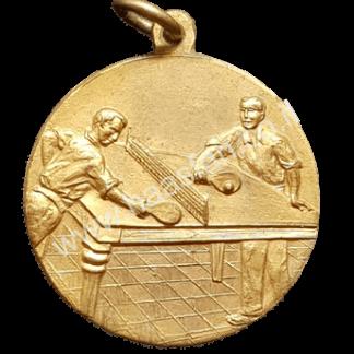 """מדליה - אליפות ישראל """"טניס שולחן"""" 1952, מקום ראשון"""