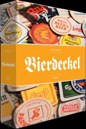 אלבום עם כריכה קשה עבור תחתיות בירה (מסדרת GRANDE) + 15 דפים שקופים