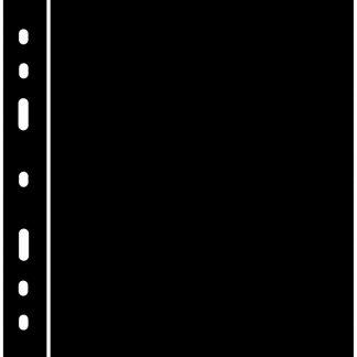 דפי הפרדה שחורים מפלסטיק עבור אלבומים מסדרת OPTIMA - חבילה של 10