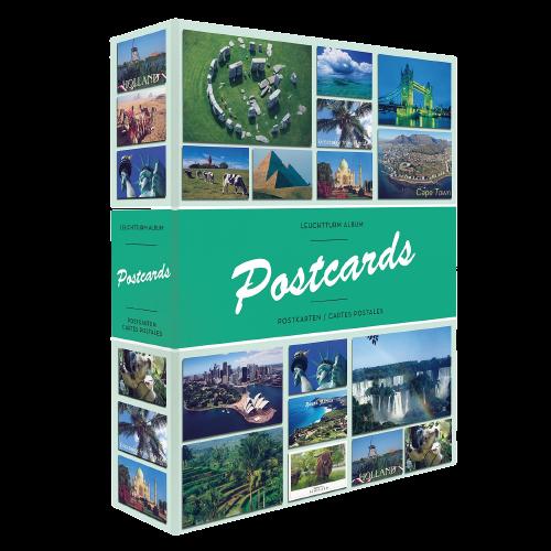 אלבום גלויות עם כריכה קשה - 50 דפים (עד 200 גלויות) תוצרת Leuchtturm, גרמניה