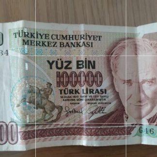 100,000 לירה טורקית