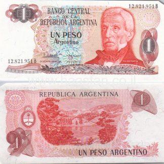 1 פסו 1983, ארגנטינה - UNC